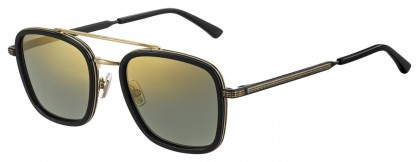 Jimmy Choo JOHN/S 2M2 (K1) Black Gold - Gold Mirror
