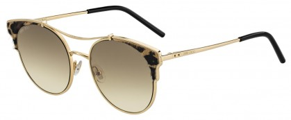 Jimmy Choo LUE/S XMG (86) Gold Black Animated - Brown Gold Gradient
