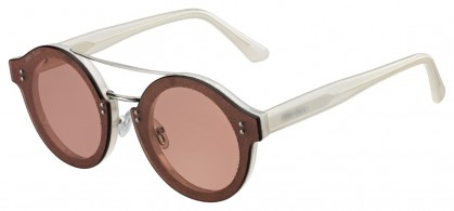 Jimmy Choo MONTIE/S 18F/VC Ivory Silver - Pink