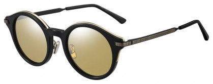 Jimmy Choo NICK/S 2M2 (T4) Black Gold - Gray Gold Flash Mirror