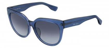 Jimmy Choo OLA/F/S 1GZ (HD) Transparent Blue - Grey Shaded