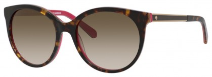 Kate Spade AMAYA/S S0X/CC Havana Pink - Brown Shaded