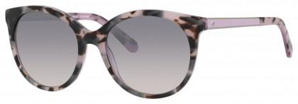 Kate Spade AMAYA/S S10/QP Lilac Havana - Grey Shaded
