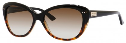 Kate Spade ANGELIQUE/S US EUT/Y6 Black Havana - Brown Shaded