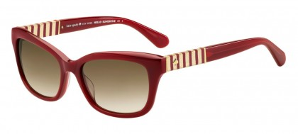 Kate Spade JOHANNA2/S LHF/HA Burgundy - Brown Shaded