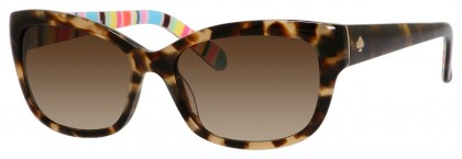 Kate Spade JOHANNA/S PF7/CC Havana - Dark Brown Shaded