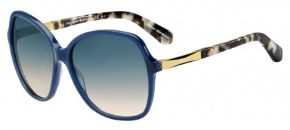 Kate Spade JOLYN/S 0CX/I4 Blue Gold - Blue Peach Shaded