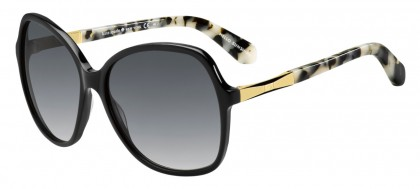 Kate Spade JOLYN/S ANW/F8 Black Gold - Grey Shaded