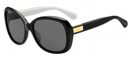 Kate Spade JUDYANN/P/S 9HT/M9 Black - Grey Polarized