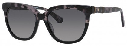 Kate Spade KAHLI/S I7J/9O Grey Havana Black - Dark Grey Shaded