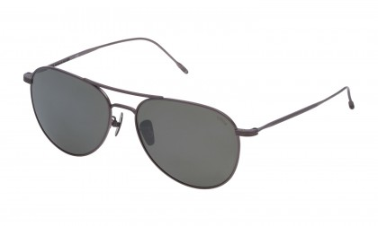 Lozza SL2304 - BRESCIA 3 0S22 Bachelite Sabbiata Shiny - Smoke Mirror Silver