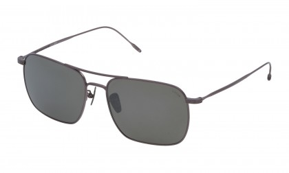 Lozza SL2305 - BRESCIA 3 0S22 Bachelite Sabbiata Shiny - Smoke Mirror Silver