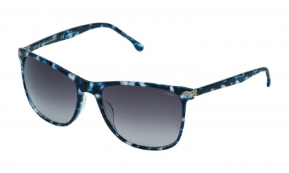 Lozza SL4162M - BOLOGNA 3 0WT9 Blue/Havana Shiny - Smoke Gradient