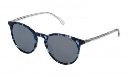 Lozza SL4179M - MATERA 8 WT9X Havana Blue Opalina Shiny - Smoke Mirror Silver