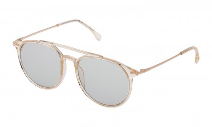 Lozza SL4208M - ZILO ULTRALIGHT 3 913G Beige Trasparent Shiny - Smoke Mirror Gold