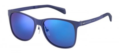 Marc By Marc Jacobs - MMJ 452/S ACA/XT Matte Blue - Blue Mirror