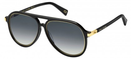 Marc Jacobs MARC 174/S 2M2/9O Black Gold - Grey Shaded