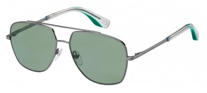 Marc Jacobs MARC 271/S ASR/QT Ruthenium Green - Green
