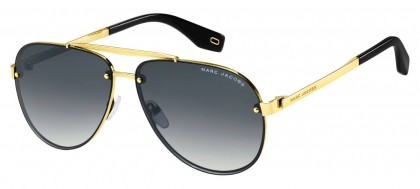Marc Jacobs MARC 317/S 2F7/9O Gold Gray Black - Grey Gradient