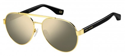 Marc Jacobs MARC 341/S 2M2/UE Black Gold - Grey Gold Mirror
