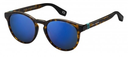 Marc Jacobs MARC 351/S 086/XT Dark Havana - Blue Grey Mirror