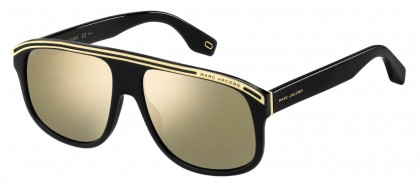 Marc Jacobs MARC 388/S 807/JO Black - Gray Gold Mirror