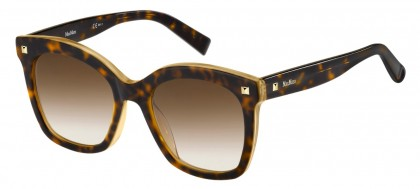 Max Mara MM DOTS II C9B/HA Havana - Light Brown Shaded