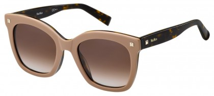 Max Mara MM DOTS II L93/HA Nude - Brown Shaded