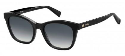 Max Mara MM EYEBROW R6S/9O Black - Grey Shaded