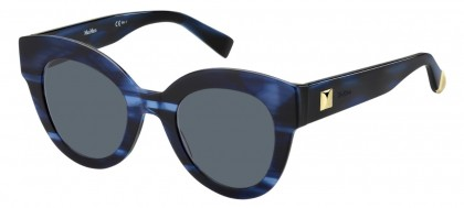 Max Mara MM FLAT I 38I/IR Blue Horn - Grey