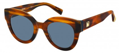 Max Mara MM FLAT I EX4/KU Brown Horn - Blue