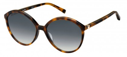 Max Mara MM HINGE I/G 086/9O Dark Havana - Grey Shaded