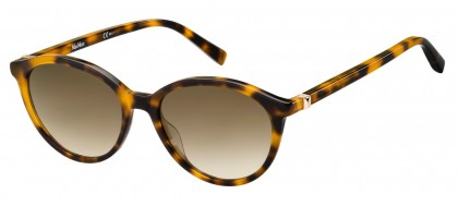 Max Mara MM HINGE III 086/HA Havana - Brown Shaded
