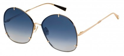 Max Mara MM HOOKS 000/08 Rose Gold - Blue Shaded