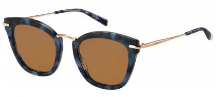 Max Mara MM NEEDLE IX JBW/70 Blue Havana - Dark Brown
