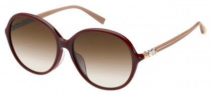 Max Mara MM RING FS LHF/HA Burgundy - Brown Shaded