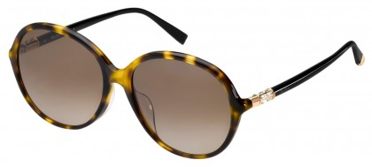 Max Mara MM RING FS WR9/HA Blonde Havana - Dark Brown Shaded