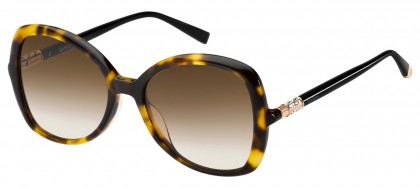 Max Mara MM RING WR9/HA Blonde Havana - Dark Brown Shaded