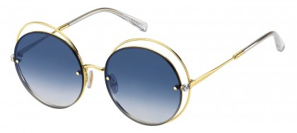 Max Mara MM SHINE I J5G/08 Gold - Blue Shaded