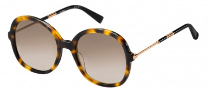 Max Mara MM WAND III 086/HA Havana - Brown Shaded