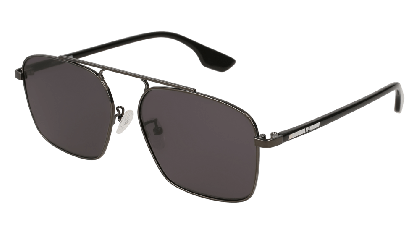 Mcq MQ0094S-001 Ruthenium Black - Grey Dark