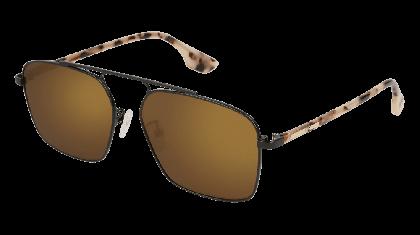 Mcq MQ0094S-002 Black Havana - Bronze Shiny