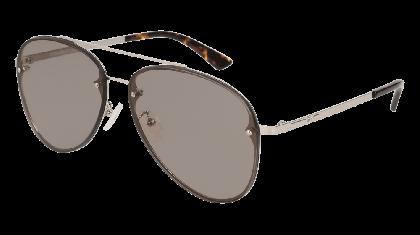 Mcq MQ0136S-010 Silver - Grey Shiny