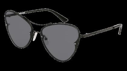 Mcq MQ0137S-001 Black - Grey Shiny