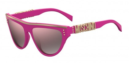 Moschino MOS002/S MU1/VQ Fuchsia - Grey Pink Shaded