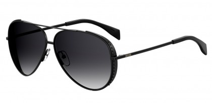 Moschino MOS007/S 807/9O Black - Dark Grey Shaded