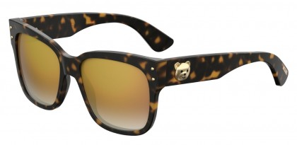 Moschino MOS008/S 086/JL Dark Havana - Brown Shaded