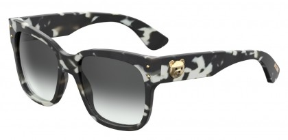 Moschino MOS008/S WR7/9O Black Havana - Grey Shaded