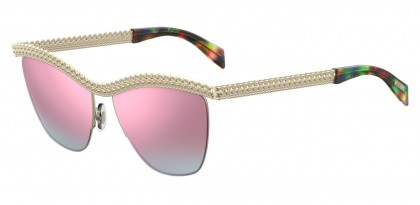 Moschino MOS010/S PSX/VQ Pale Gold - Grey Pink
