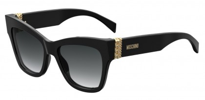 Moschino MOS011/S 807/9O Black - Dark Grey Shaded